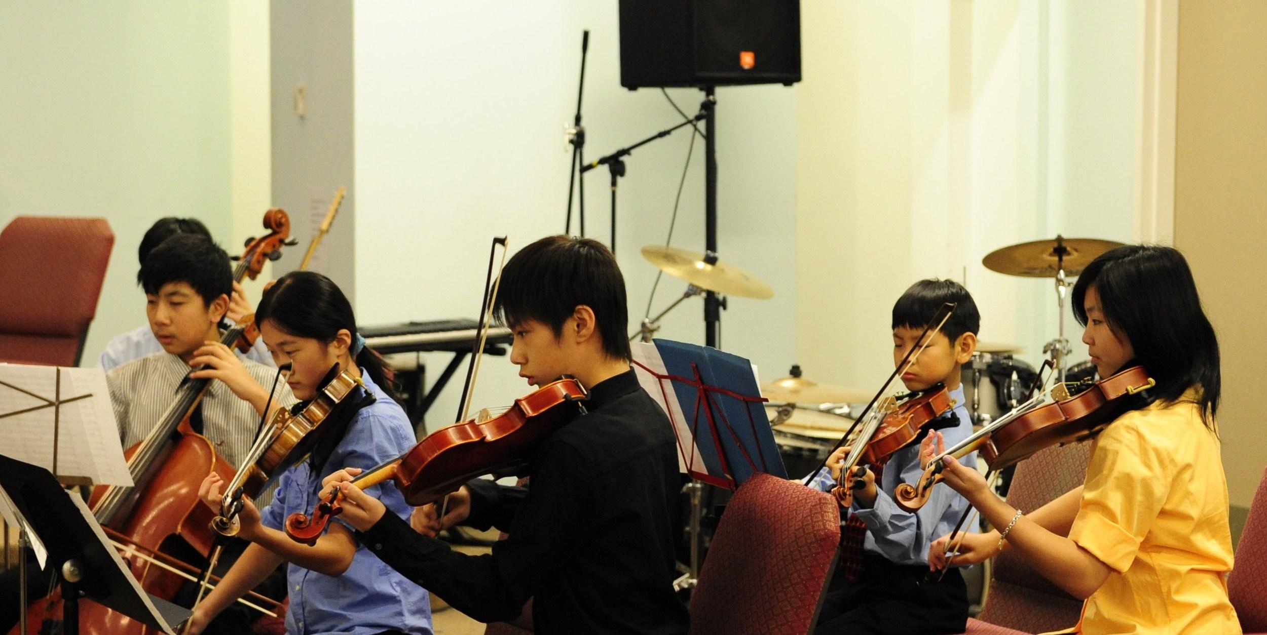 Violin II and cellos