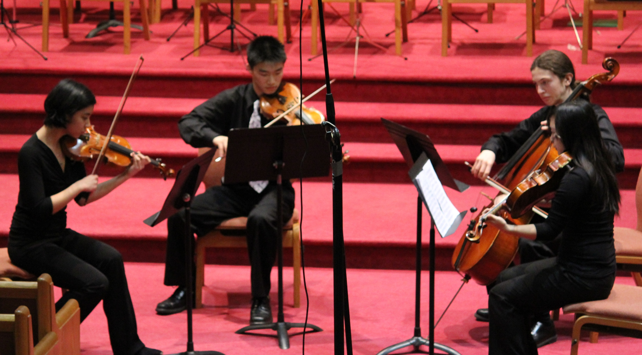 Our four string principals perform Schubert's Death and the Maiden string quartet