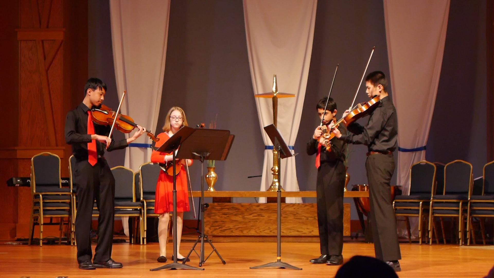 A viola quartet