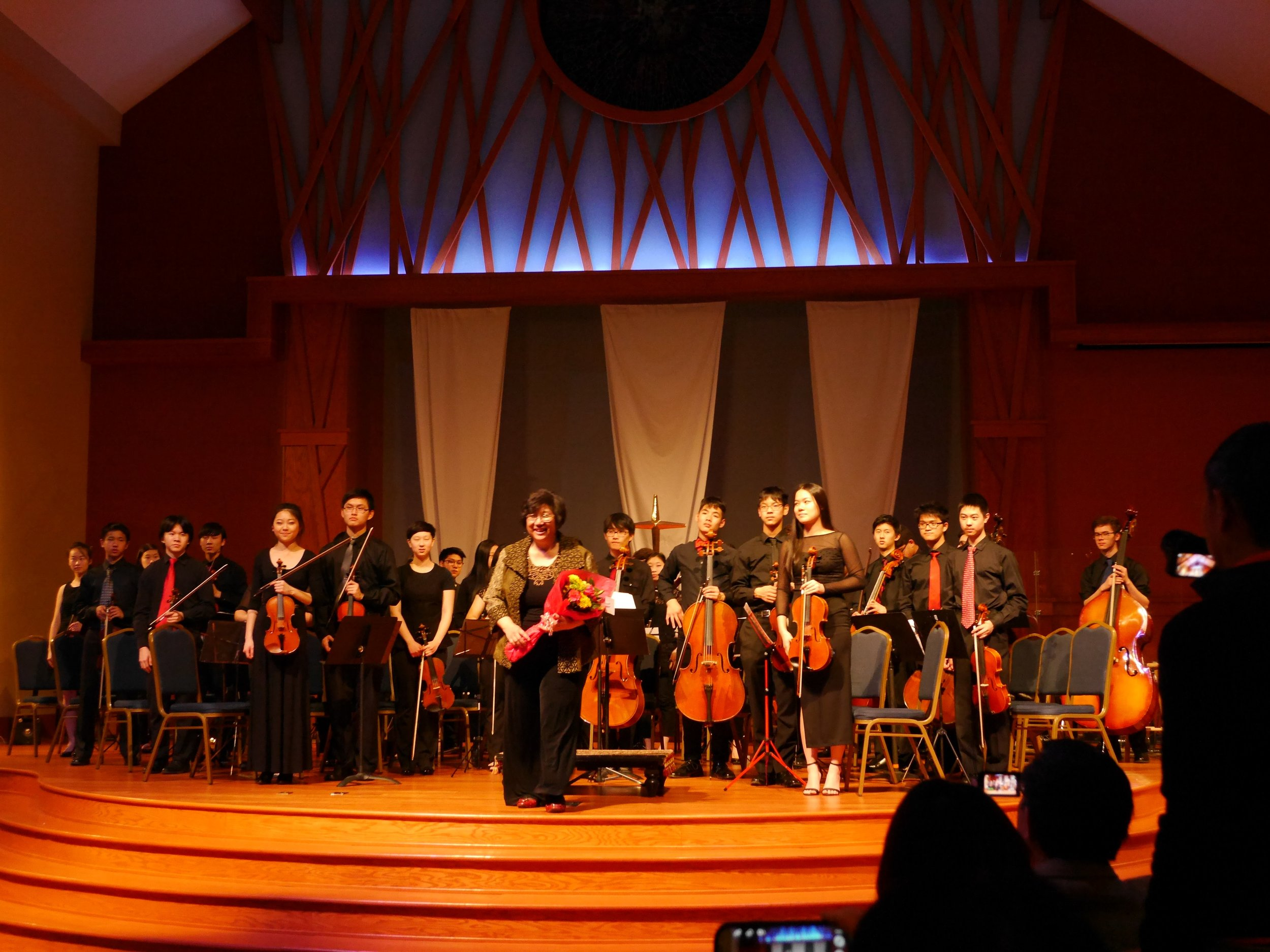 The final curtain call for the Sinfonia