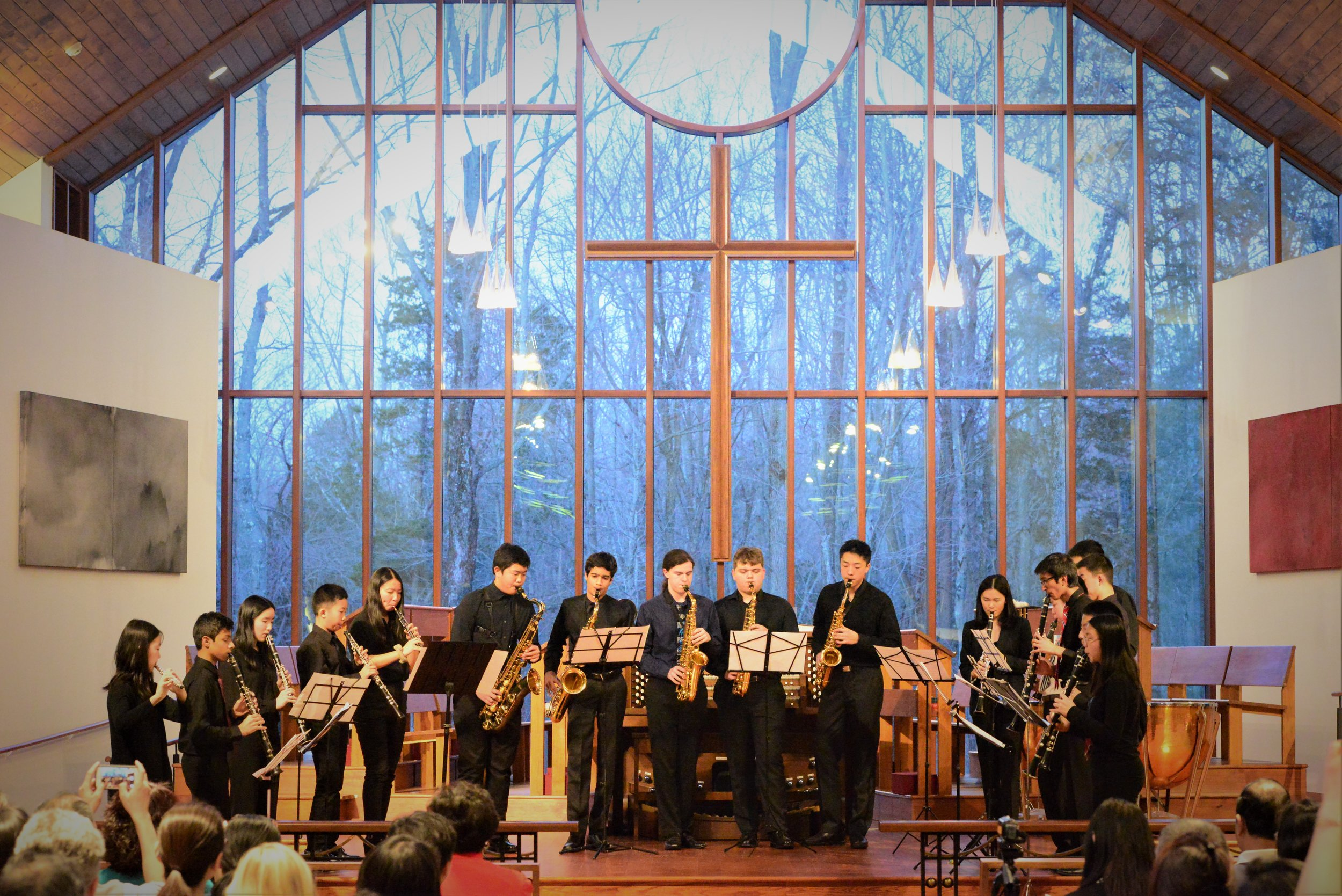 Wind Ensemble performing the Suite for Winds, No. 2 by Charles Lefebvre