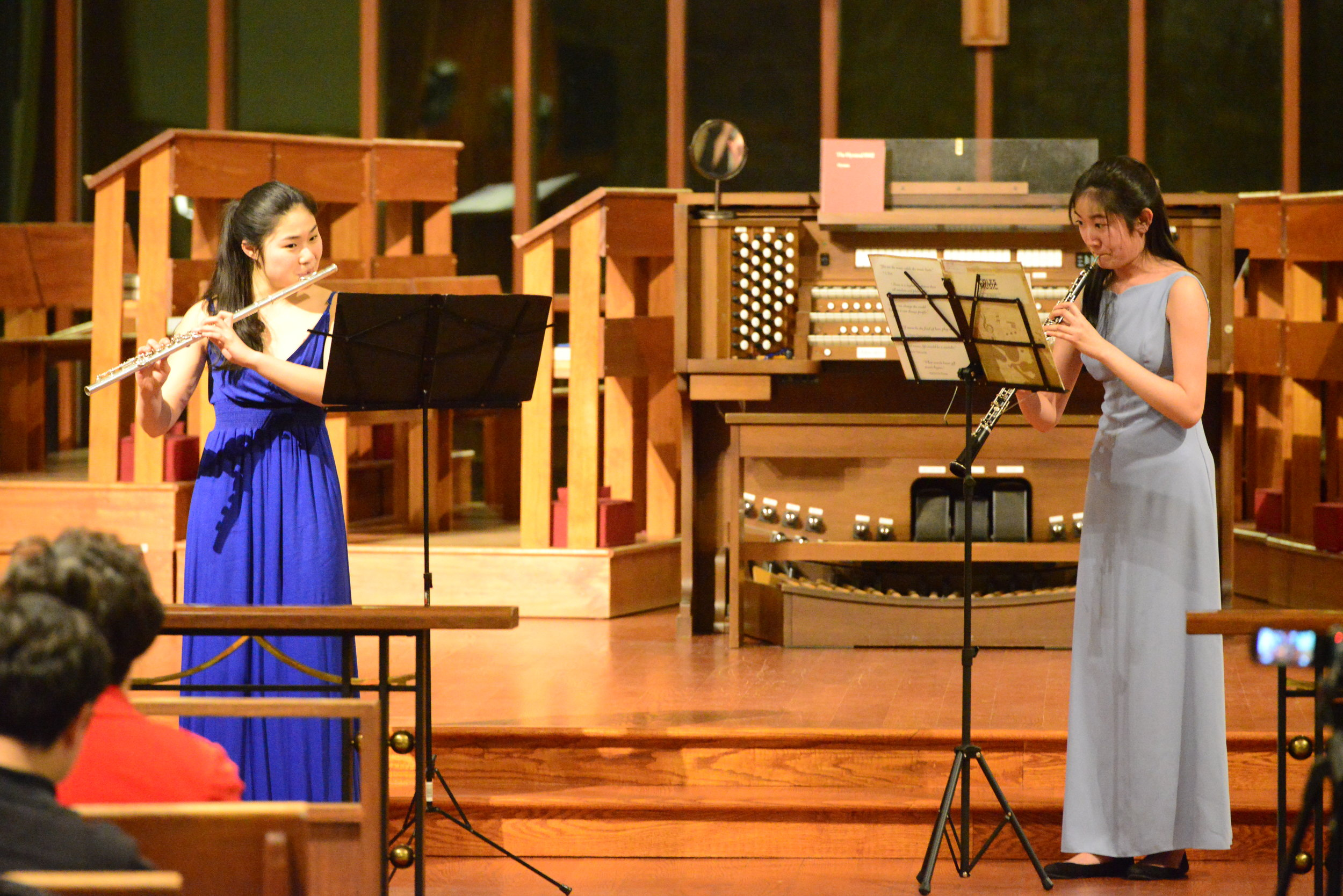 Flute and Oboe Duet in G Major by W.F. Bach