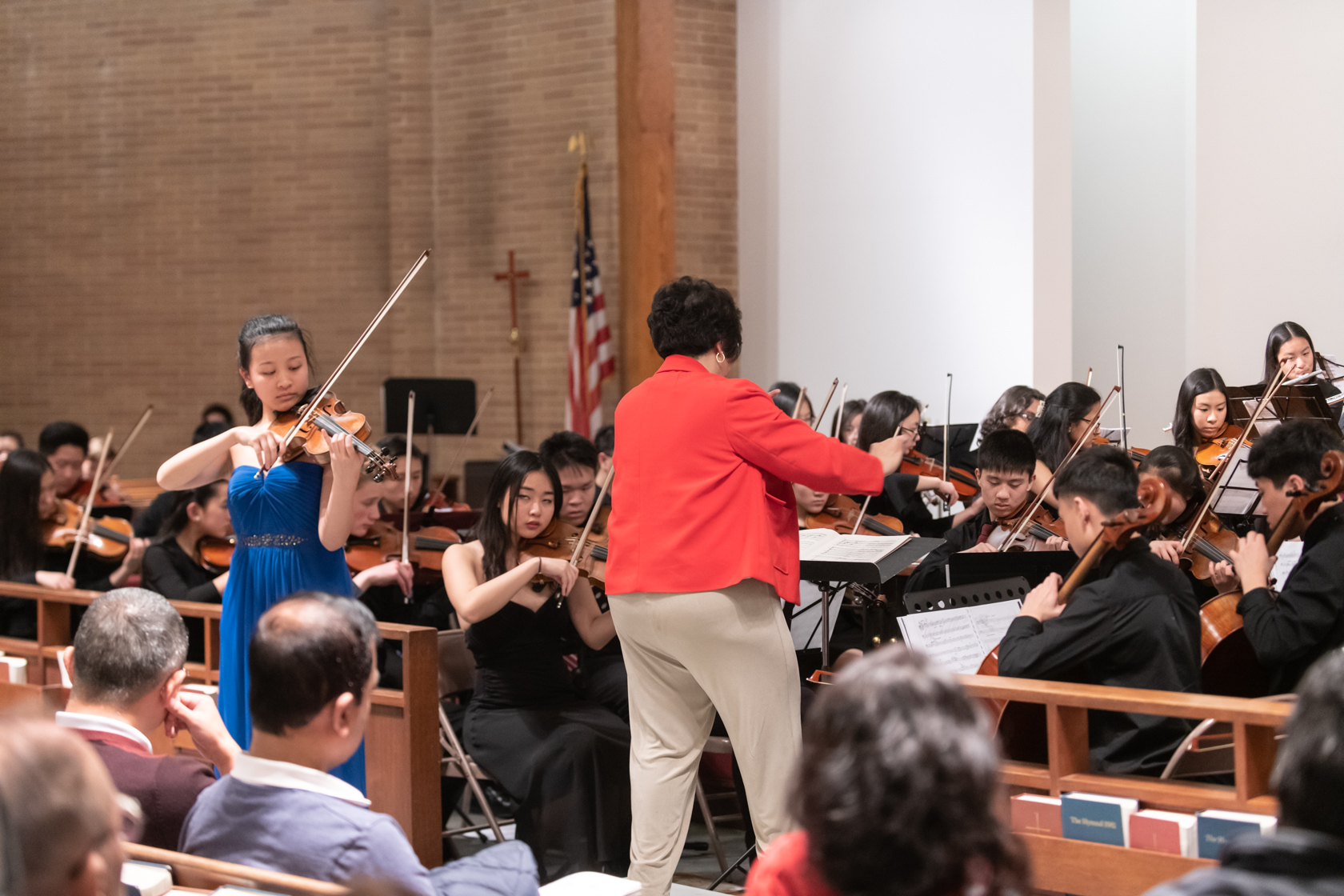 """A lovely performance of the """"Butterfly Lovers"""" Violin Concerto by Adrianna Liu"""