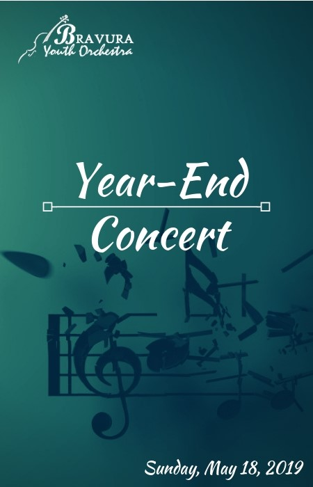 YEAR-END CONCERT - MAY 18, 2019BROOKDALE PERFORMING ARTS CENTER