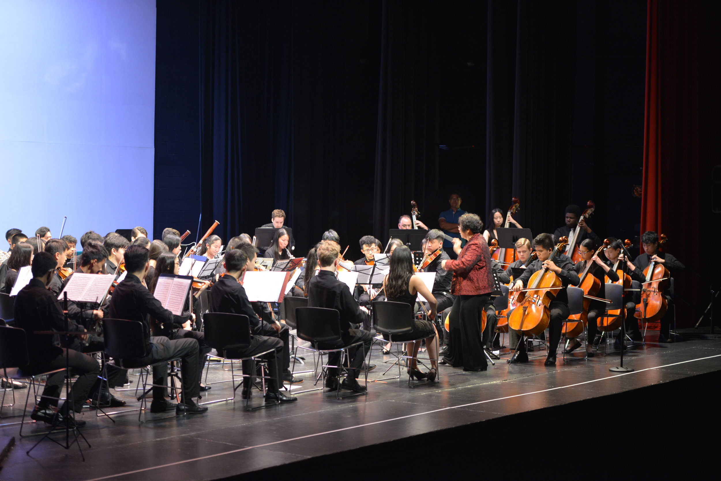 An intense performance of Beethoven's Symphony No. 5 in C minor
