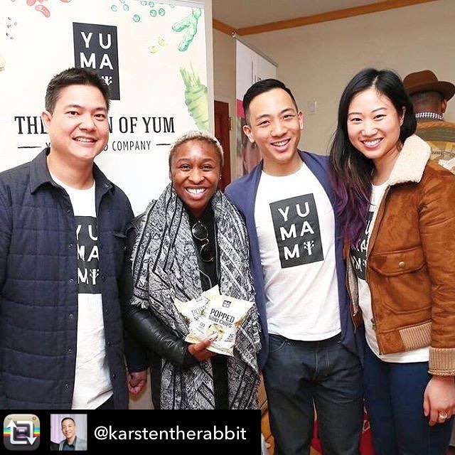 One of our favorite clients, @yumamifood + one of our favorite Broadway actors AND Tony Award Winner, @cynthiaerivo = BLISS!! I'm sure she knows what to pick up at @wholefoods the next time she goes shopping... 😉#Broadway #cynthiaerivo #jealous #tonyawardwinner #tonyawards #musical #thecolorpurple