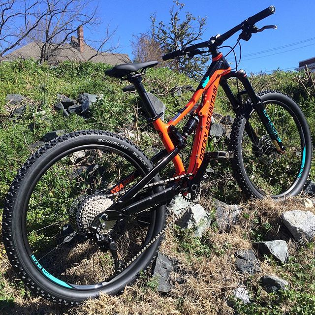 "@rockymountainbicycles 💀Reaper 24"" for the lil' shredders out there!  #mtb #pumpedtobestoked #sendit #recyclesbikeshop #24inchwheels #fullsuspension"