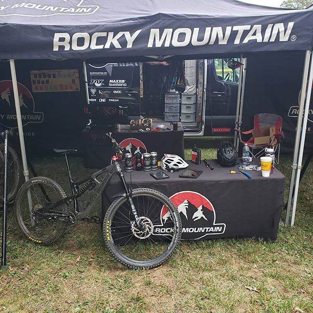 """Thanks everyone who came out to the Rocky Mountain Bicycles demo yesterday! We decided to move the set up back to the Safety Town trailhead again for today's demo.  We have the brand new Slayer too! Ya just have got to come see if for yourself! We will also have a bunch of the Powerplay bikes up and charged for everyone to have a chance to Giggle on these """"giggle bikes"""". Thanks again to @joymongersbeer for keeping us hydrated!! #pumpedtobestoked  #safetytown"""
