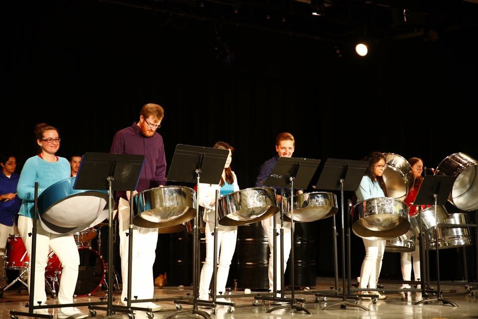 Indiana University Steel Drumming Ensemble