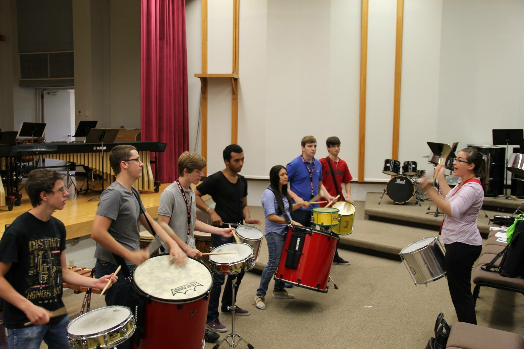 UCF Summer Percussion Institute