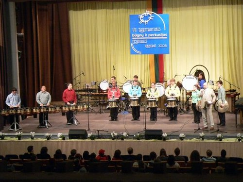 Lithuania Percussion Ensemble Festival