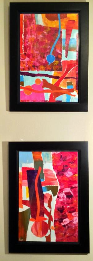 Peaches (framed)