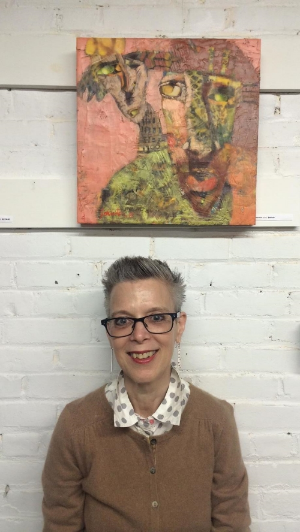 """Painter Anne Johnstone and her very own """"Nemesis"""""""