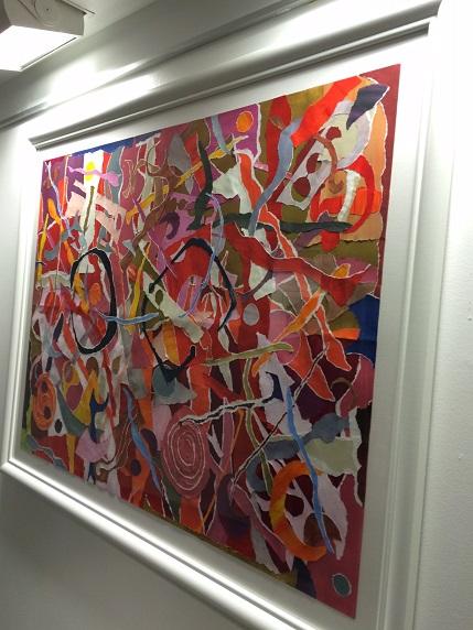 """Redorama"" is displayed in Watertown through June 10, 2016"