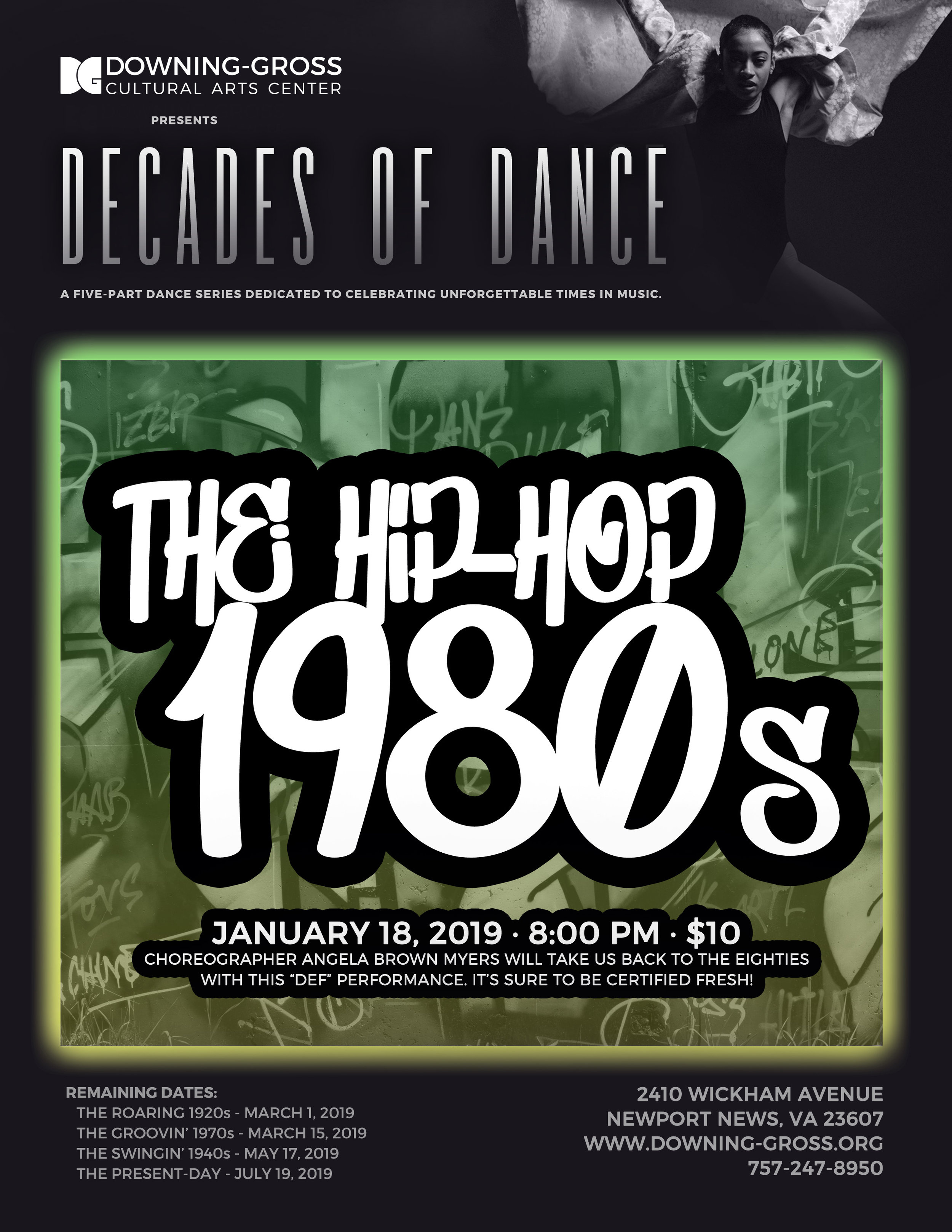 """Choreographer Angela Brown-Myers will take us back to the eighties with this """"def"""" performance. It's sure to be certified fresh!"""