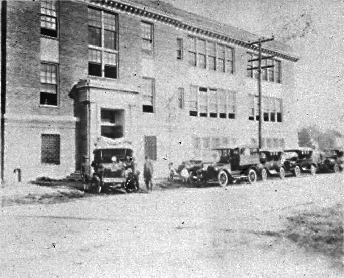 1918 - The edifice was erected at the corner of 25th Street and Wickham Avenue as the Walter Reed School - a high school for white children. During a massive Spanish influenza outbreak, the first floor of the building was temporarily re-purposed as an emergency hospital. Soon after, it would return to operating as the segregated school.