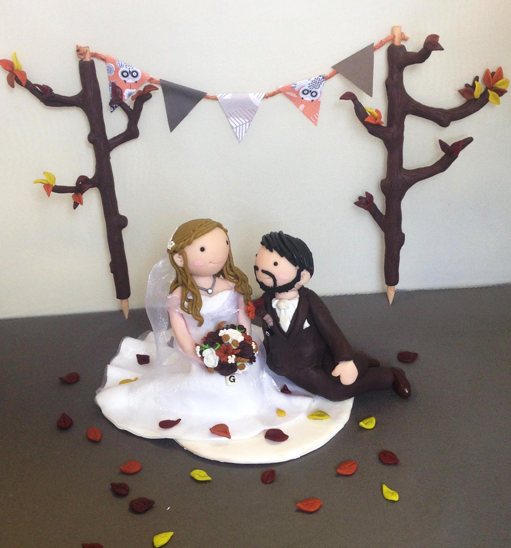 Autumn wedding topper