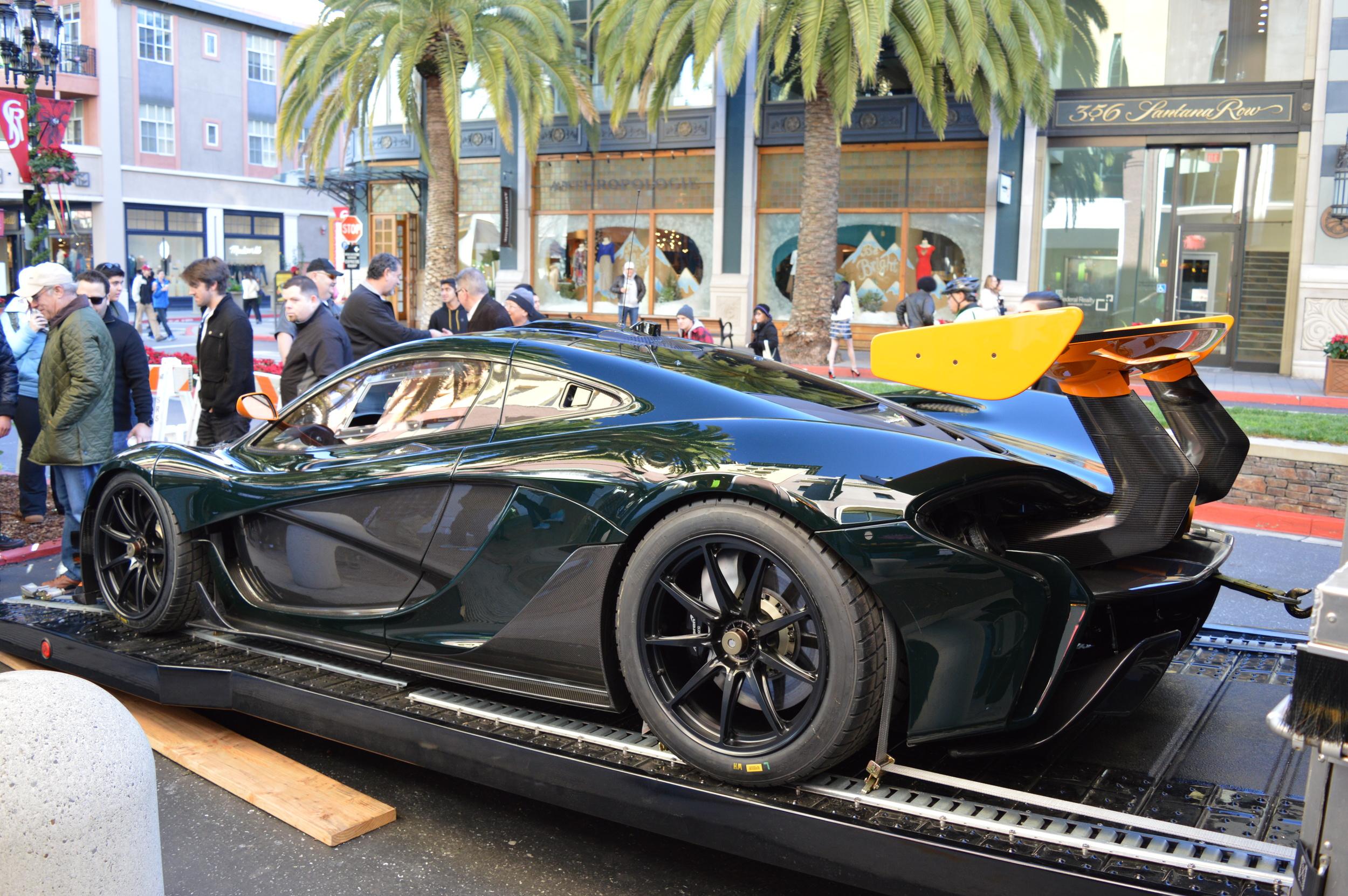 Credits: Dennis Noller - McLaren P1 GTR - Canepa Green with McLaren Orange accents
