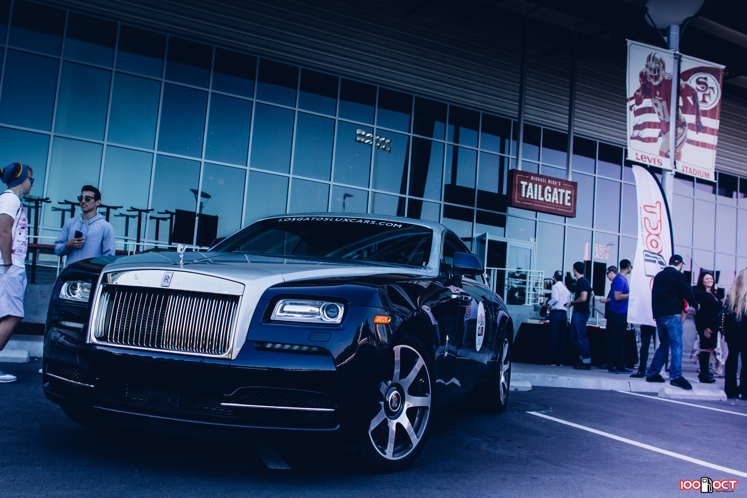 The perfect car for a tailgate party? Only at Michael Mina's!Credits: Dayne Dyer.