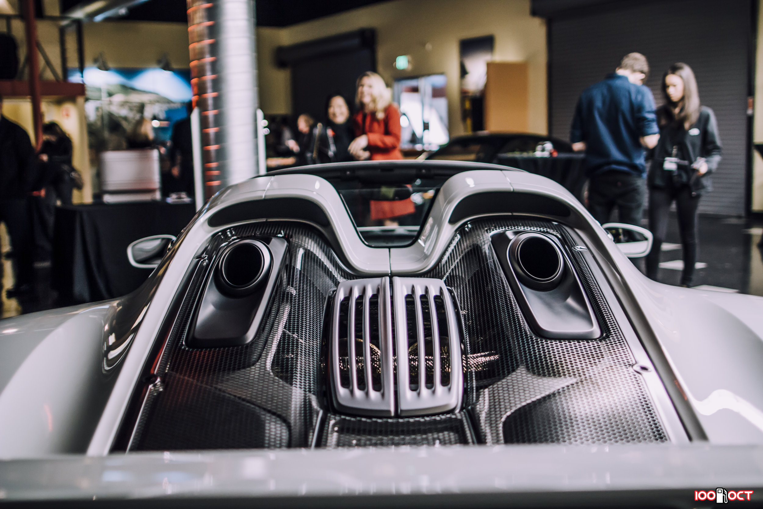 Our cocktail reception features the best German supercars!