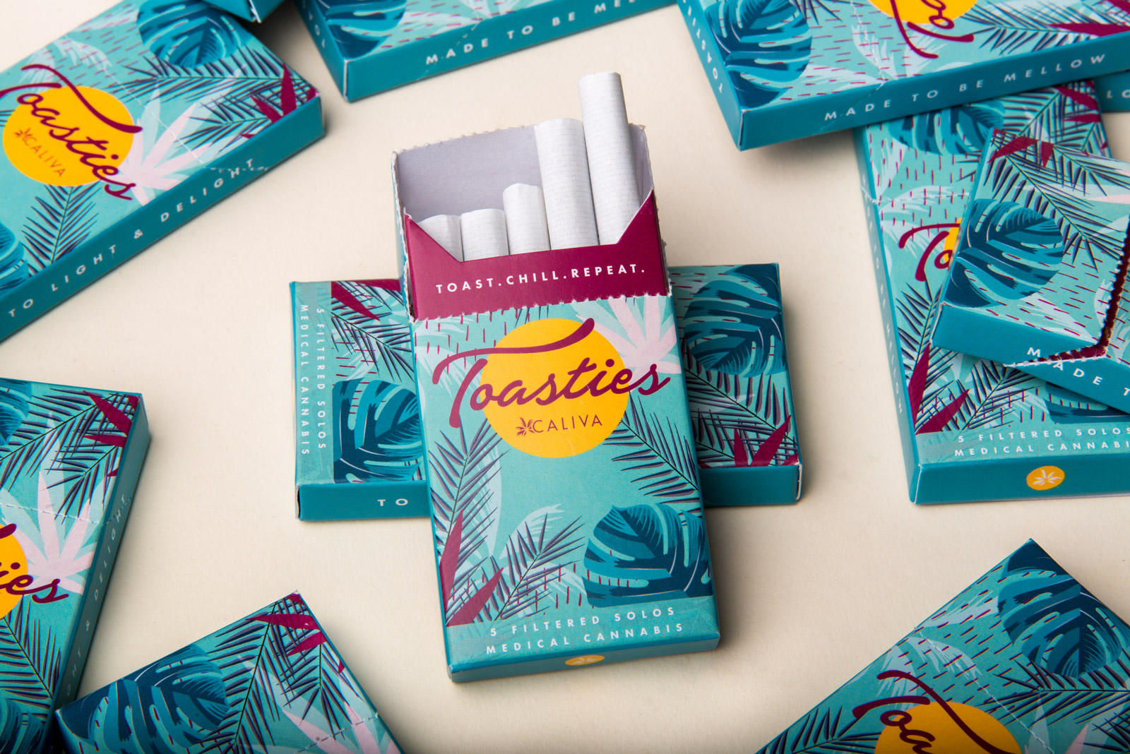 Caliva Toasties Pre-Roll - 5-Pack