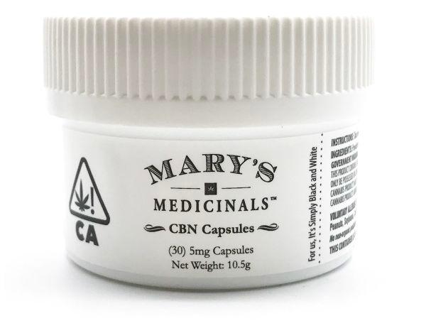 marys cbn oil capsules
