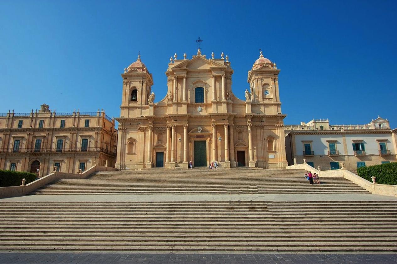 Noto cattedrale di San Nicolò