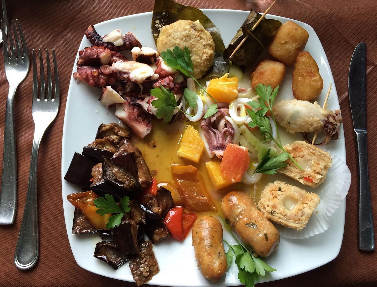 Assaggino specialità Siciliane