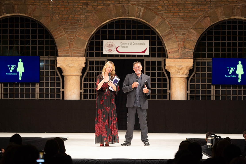 Anna Falchi con Fabio Testi