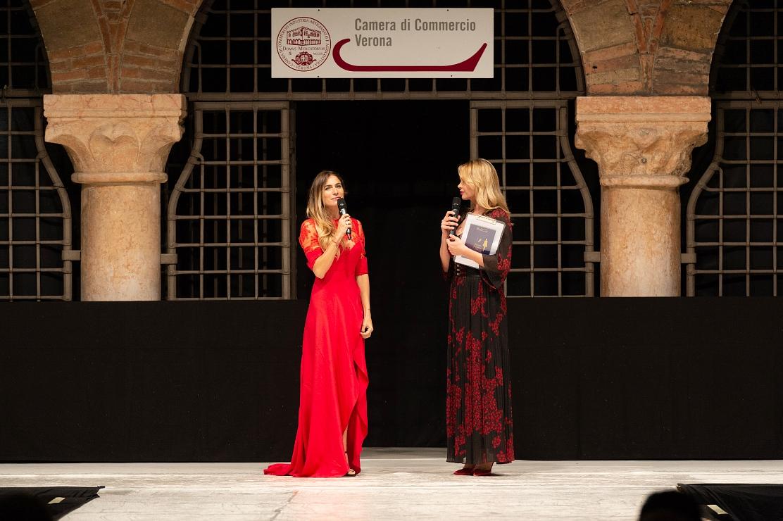 Anna Falchi con Eleonora Pedron