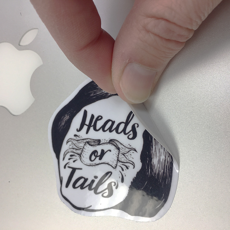 I get asked a lot of questions about our vinyl stickers, but the most frequent question is about removing them. All of our stickers are backed with vinyl instead of paper, which allows them to be easily removed from most surfaces. We cover our Macbooks with stickers (naturally), and they are easily repositioned or removed, even after weeks or months.  Our stickers are extra thick, which keeps the stickers from being damaged during removal. Most stickers can even be applied a second or even third time to spice things up!  Submit your question via our  Contact page .