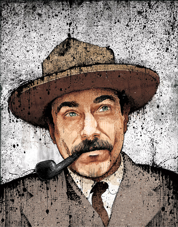 We released our new portrait of Daniel Plainview this week.  Find it in our shop!