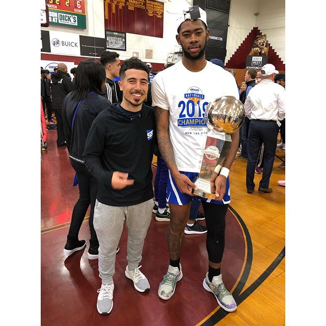 MY BROTHER MIKEAL IS A NATIONAL CHAMPION!!! You might've seen him on ESPN!!! @kealliono  I knew he was special when I met him over a year ago. He came from absolutely nothing and became one of the best players in Pennsylvania. After leading his team through the state playoffs twice, he made the tough decision to leave Philly and challenge himself on the national stage. He worked hard every day and became one of the best defenders in the nation. He put his team before himself. Now he's a National Champion. He inspires me every day. You can do anything in this world no matter what you come from. And Mikeal is on a journey to empower kids around him to follow their dreams. Anything is possible. The best is yet to come 📈💯🔥🏆 #MikealBrownJones #NationalChampion #IMG #HighSchoolBasketball #NextBigThing