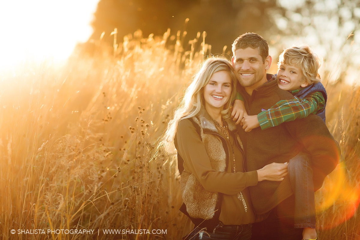 Grass and Sun Family Photos