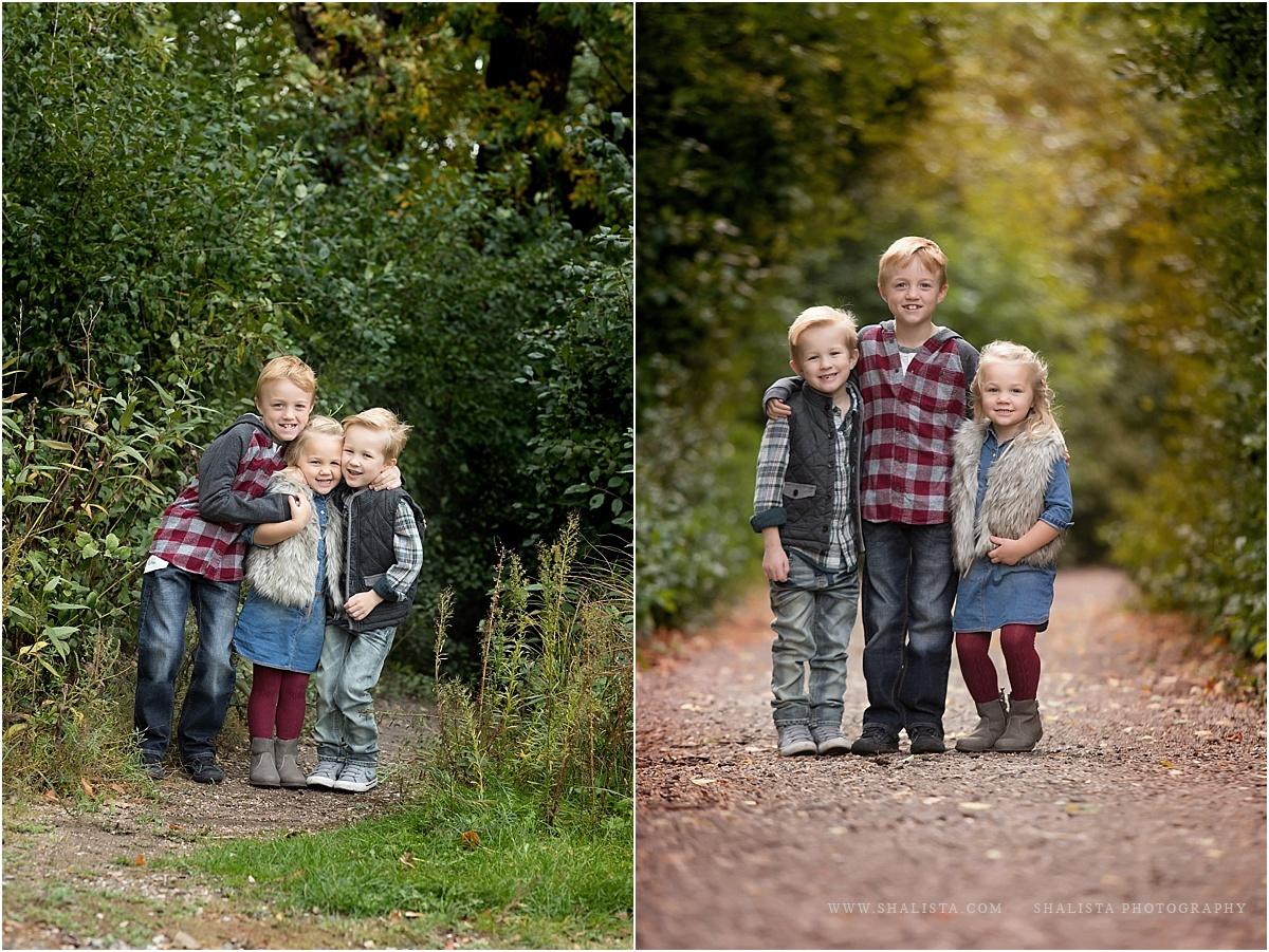Sibling fun outdoors