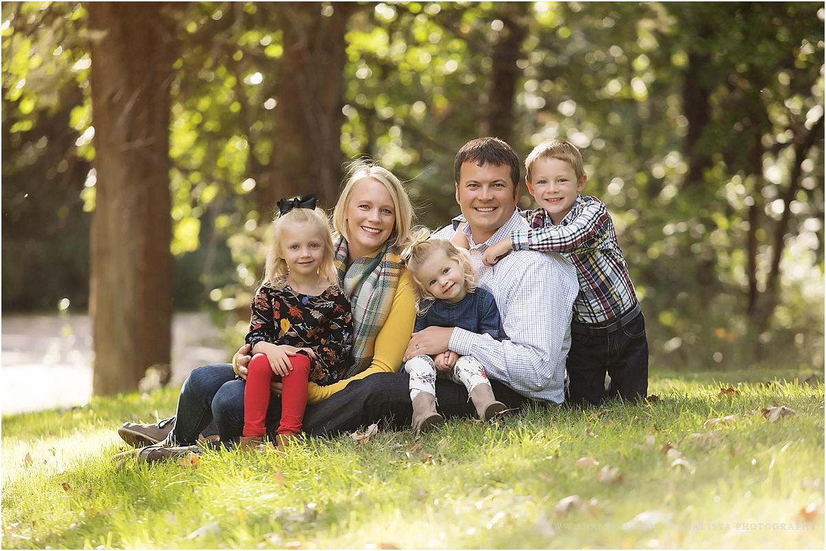 Fall Family Color Photos