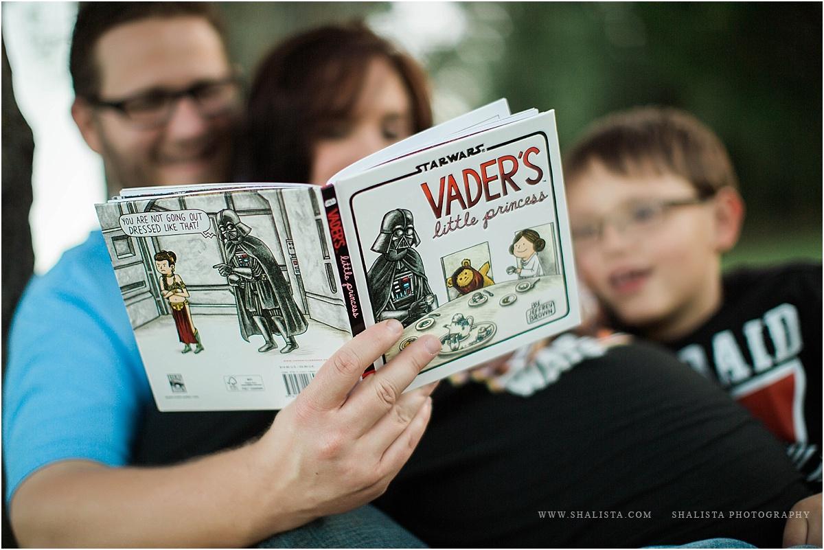 Reading Star wars