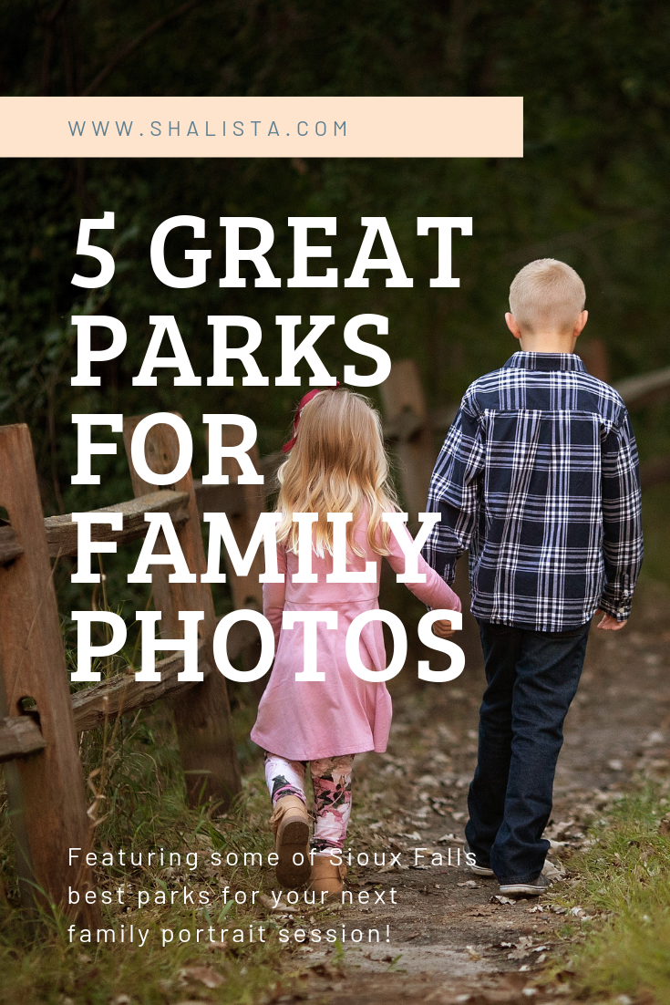 Sioux Falls Parks for Portraits
