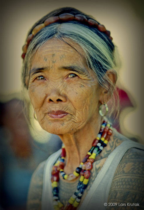 Apo Whang-Od - Whang-od Oggay born February 17, 1917), also known as Maria Oggay, is a Filipina tattoo artist from Buscalan, Tinglayan, Kalinga, Philippines. She is often described as the