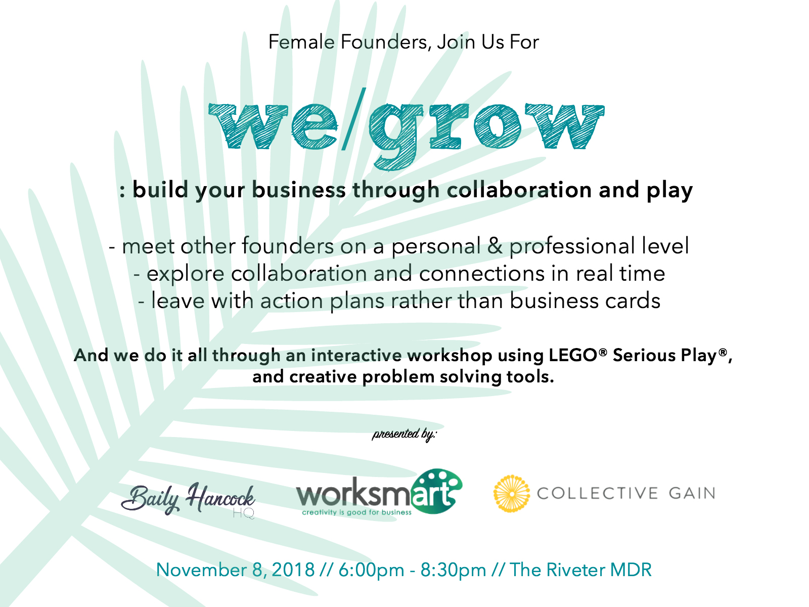 we grow event