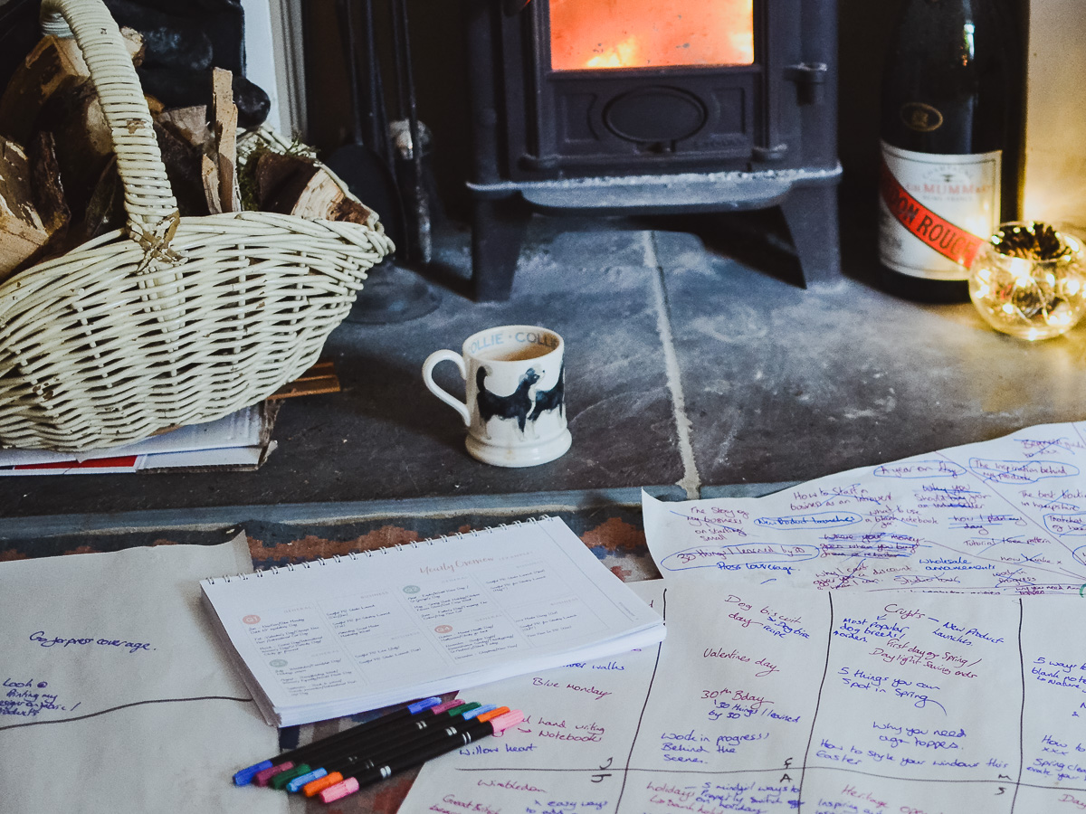 Handmade buiness planning by the fire - Josephine Penelope (1 of 1) (1).jpg