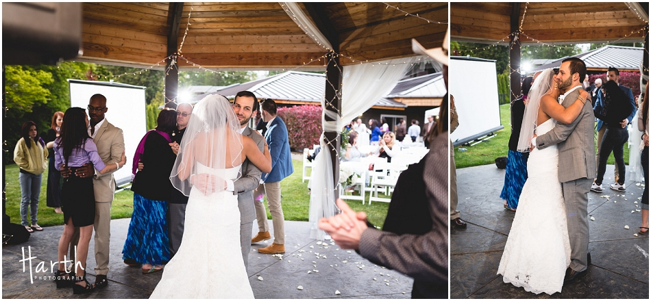 Bride and Groom Dance - Harth Photography