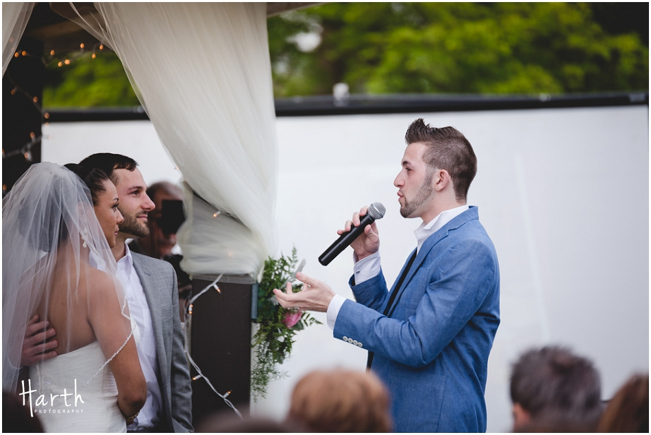 Wedding Ceremony Brother - Harth Photography