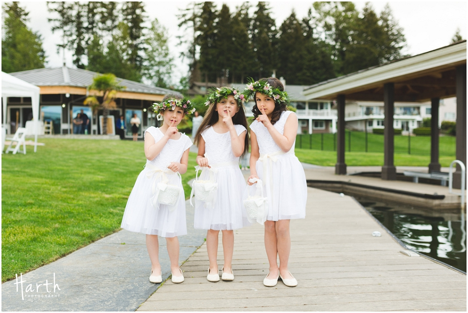 flower girls - Harth Photography