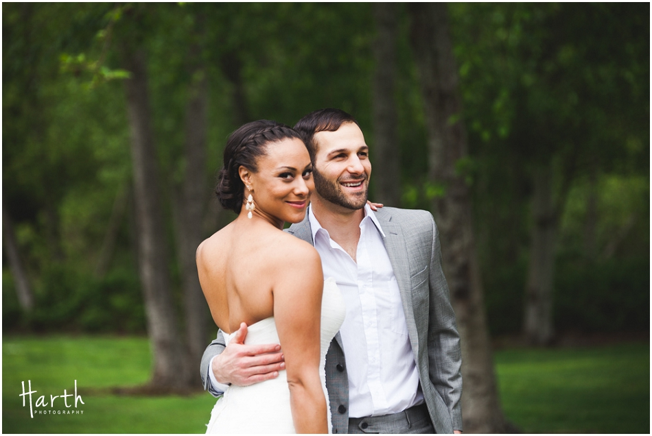 Bride and Groom Portraits - Harth Photography
