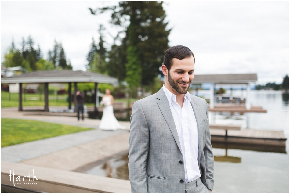 First Wedding Look - Harth Photography