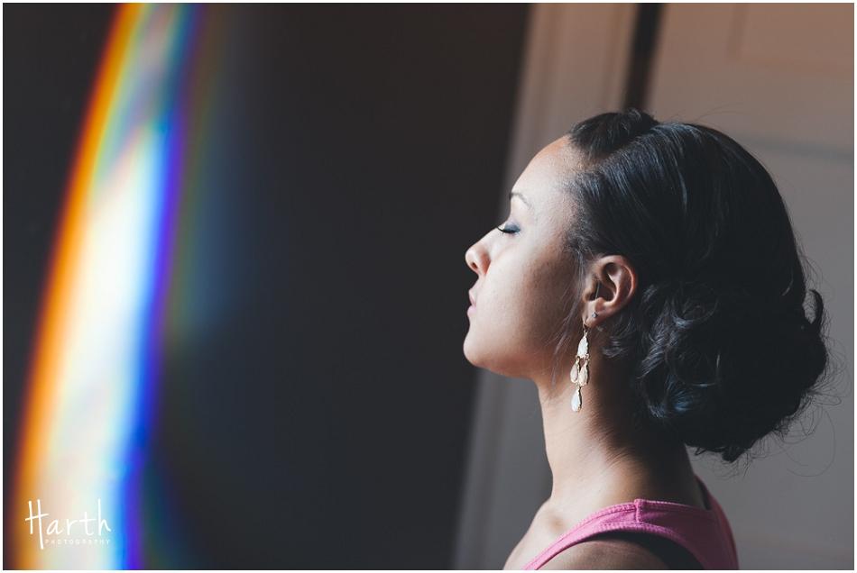 Wedding Light Prism - Harth Photography