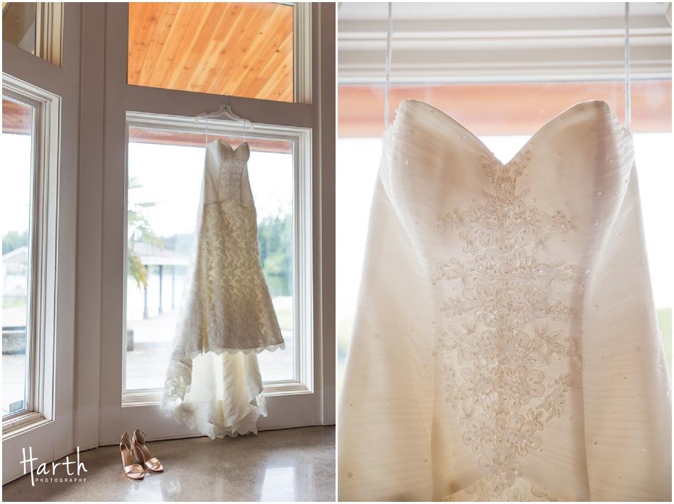 Brides Dress - Harth Photography