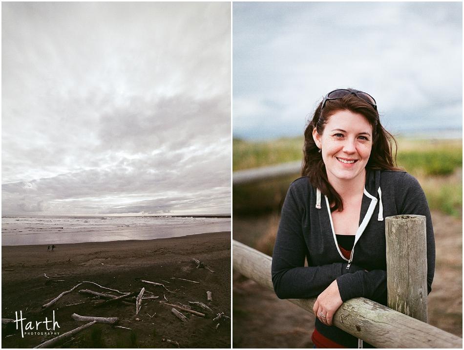 Westport, Washington Beach Portrait