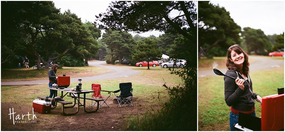 Westport, Washington Camping